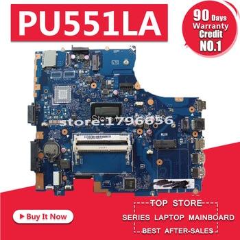 PU551LA Motherboard I7-4500 CPU For Asus PU551L PU551LA PU551LD laptop Motherboard PU551LA Mainboard PU551LA Motherboard test ok kefu k53sd for asus k53sd k53s k53e k53se motherboard rev 5 1 laptop motherboard with graphics card gt610m 2gb test original