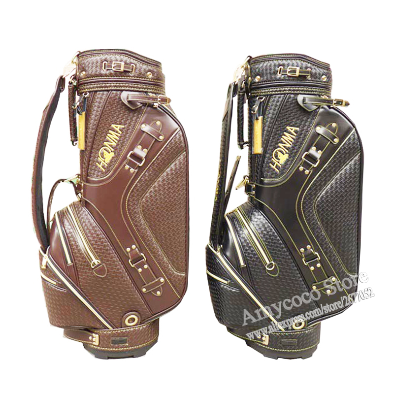 New Cooyute Golf bag High quality PU Golf clubs bag in choice 9.5 inch HONMA Golf Cart bag Free shipping free shipping dbaihuk golf clothing bags shoes bag double shoulder men s golf apparel bag