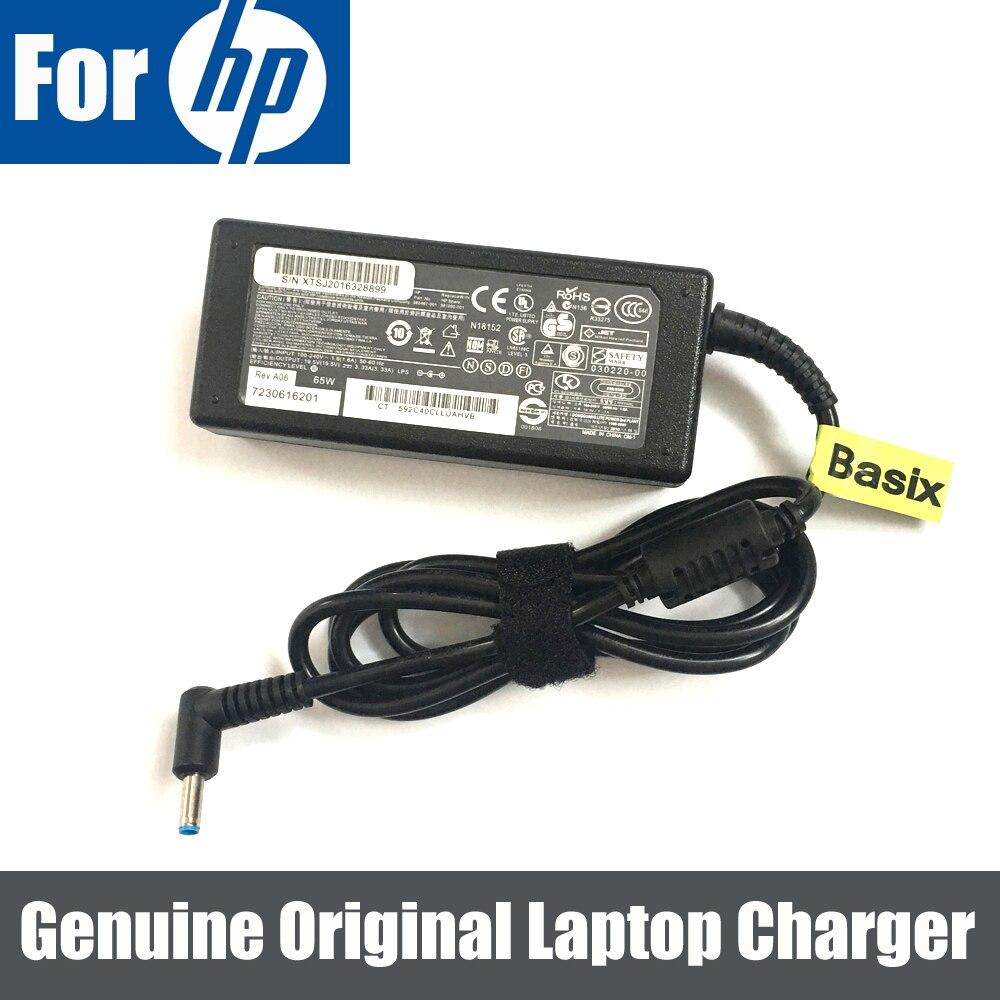 Genuine Original HP//Compaq 14 15 Ordinateur PC Portable Alimentation Chargeur Adaptateur