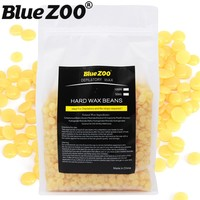 1 Bag 1000g Honey Flavor Brazilian Hard Wax Beans Pellet Painless Depilation Waxing Bikini Facial Hair Remover for Women