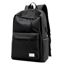 Waterproof Large Capacity 16Inch Laptop Bag Man Backpack Black for Men School Bags Mochila Masculina  LJ-0538