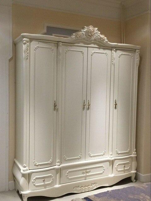 Stile francese 4 porta camera da letto cabina armadio 0409 8859 in ...