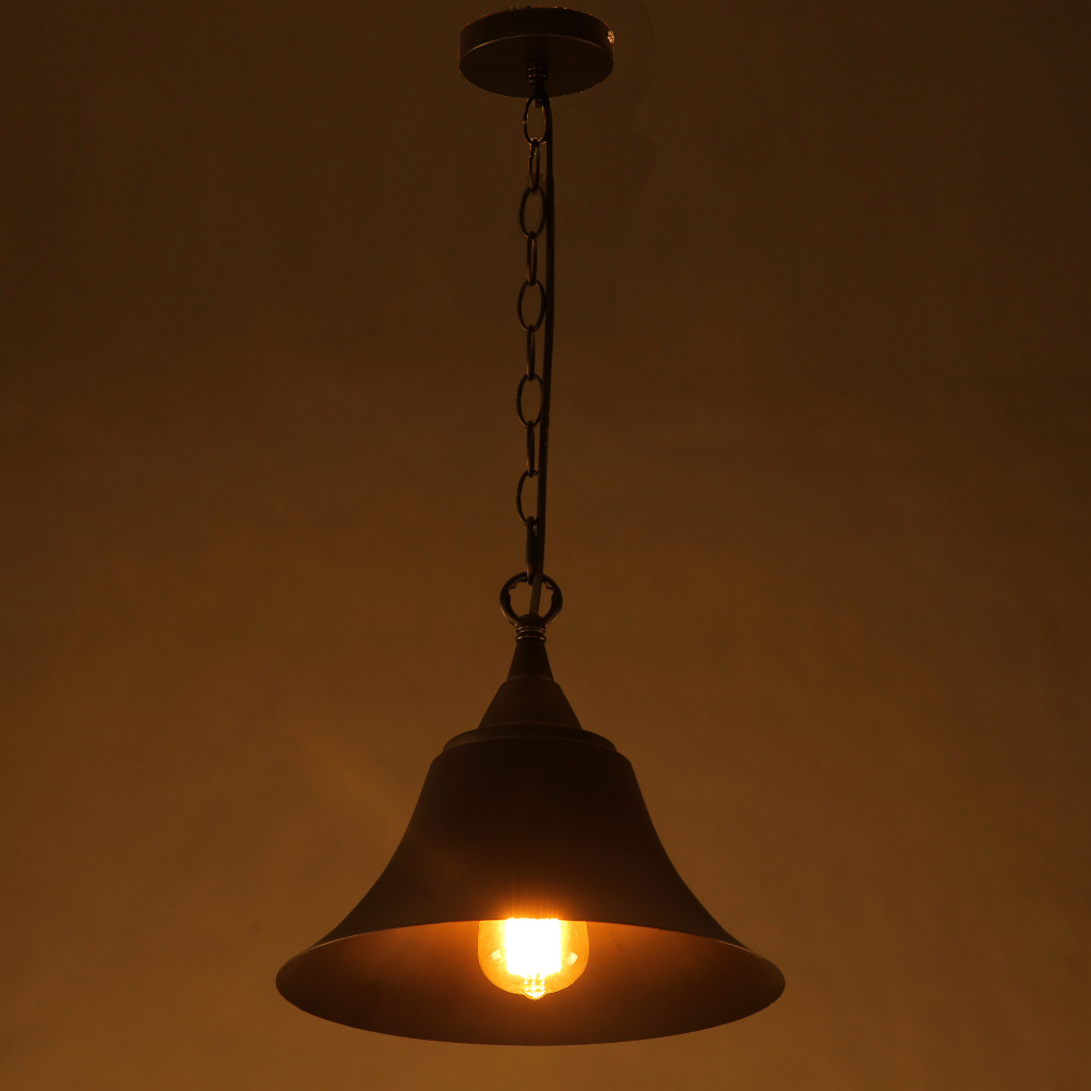 font b Vintage b font Simple Hanging black Pendant Lamps font b Light b font