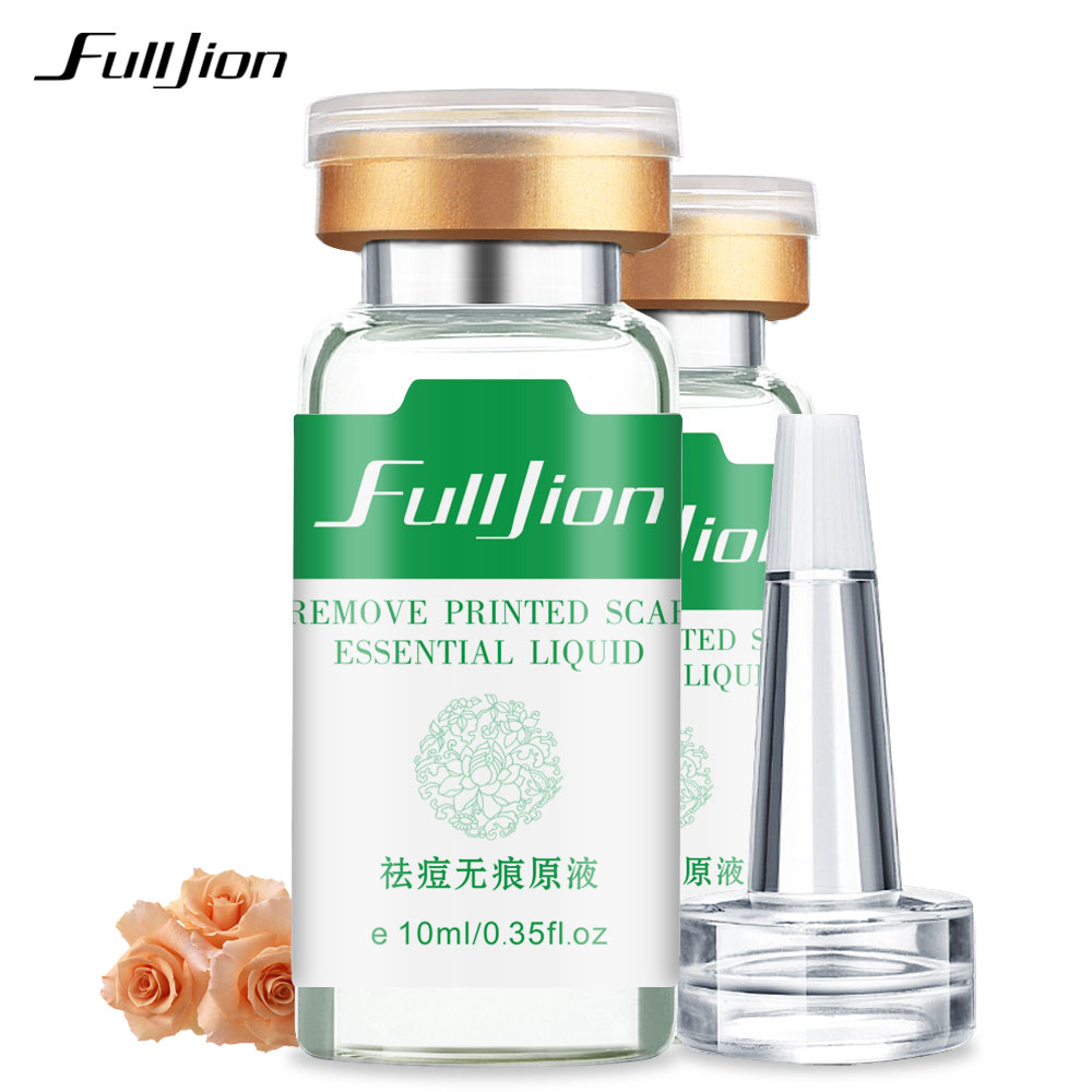 Fulljion Remove Printed Scar Essential Care Hyaluronic Acid Acne Treatment Acne Spots Skin Care Whitening Moisturizing Essential
