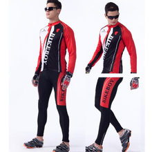 Long Sleeve Cycling Clothing Set Hygroscopic  Sweat Quick-Drying Spring Summer Cycling Jerseys MTB Bike Bicycle Clothes west biking autumn women cycling clothes quick drying outdoor long sleeve clothing spring and riding fitness sports coat jerseys