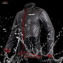 WOSAWE Racing Rain Coat Motorcycle Rider Raincoat Motocross Clothing Motorbike Riding jacket Waterproof Men