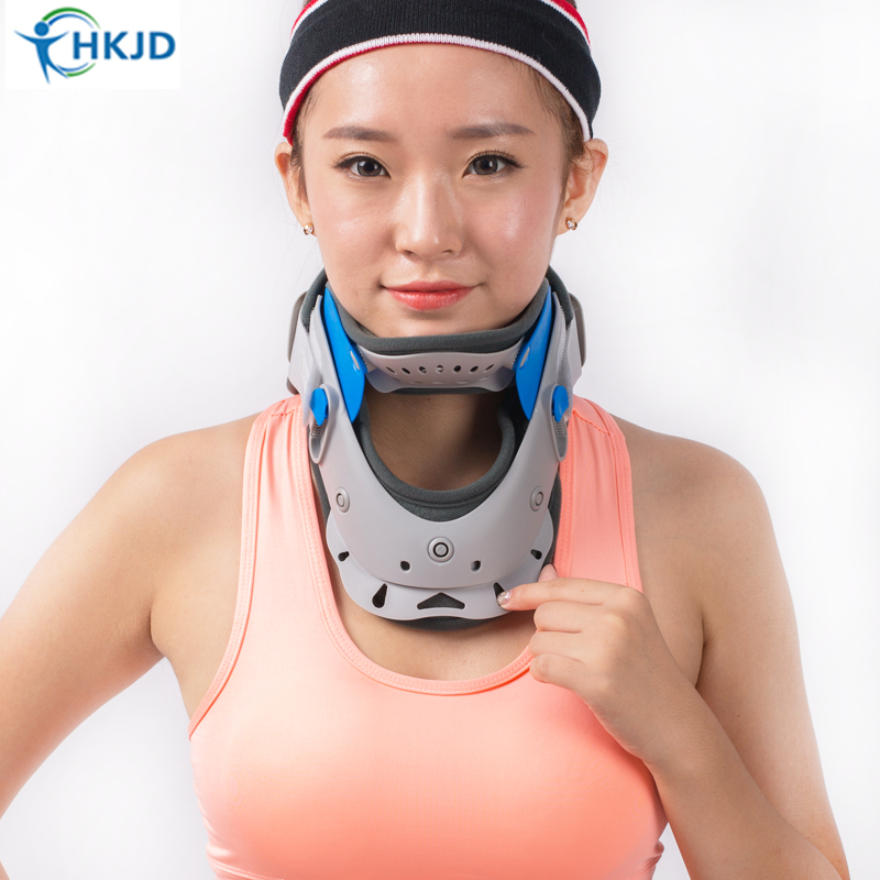 Adjustable Neck Brace Support Adult Cervical Collar Breathable Cervical spine fracture neck Rehabilitation Relax Pain Relief hot sale philadelphia cervical collar imported materials neck brace support