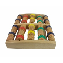 Dutch Wooden Foot Roller Massager Stimulation Promoting Blood Circulation On The Sole Gift Health Supplies Stress Relax