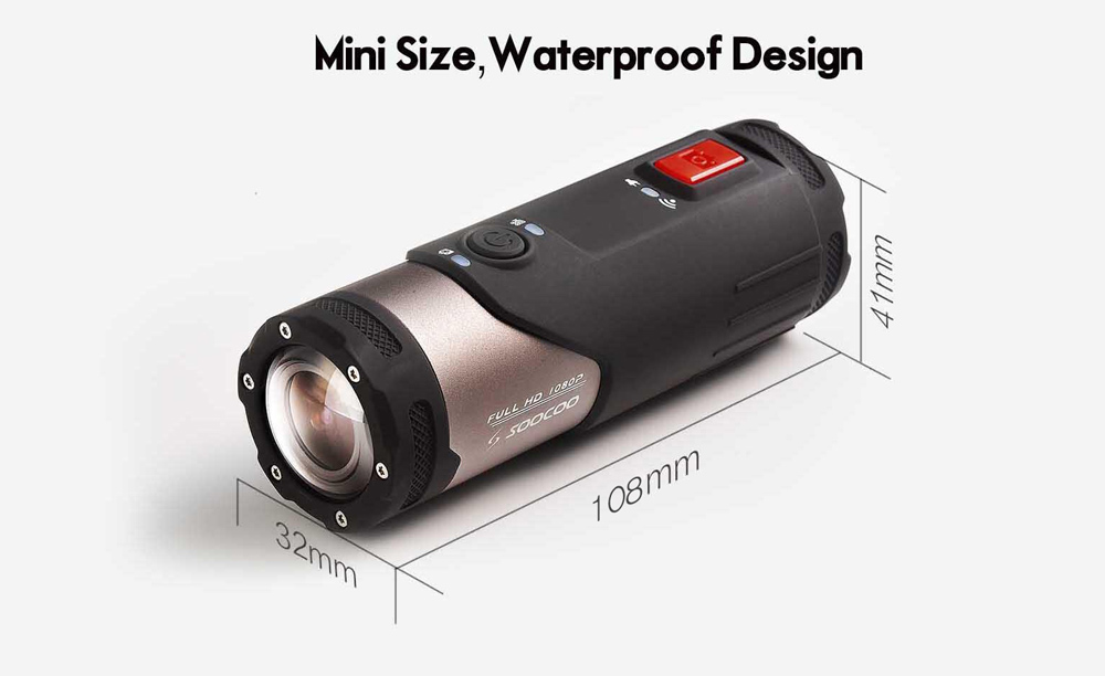 Mini Camcorder Action Camera