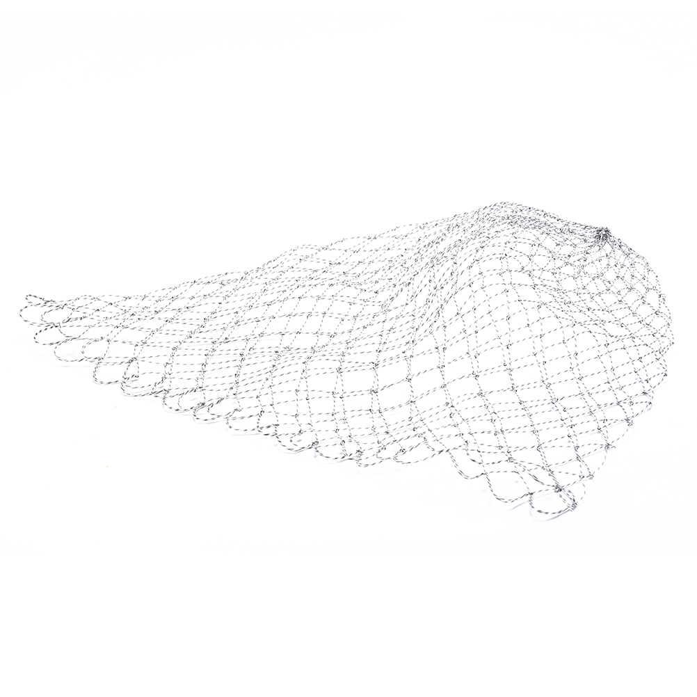 คู่สายถักตาข่าย35/45/70ซม.ตกปลาLanding Netเครื่องมือตกปลาตาข่ายสำหรับปลาเทราท์เบสปลาเทราท์จับจับaccesorry