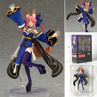 Fate Grand Order Anime Extra Caster Tamamo No Mae Figma 304 PVC Action Figure Model Doll Toy Gift 2018