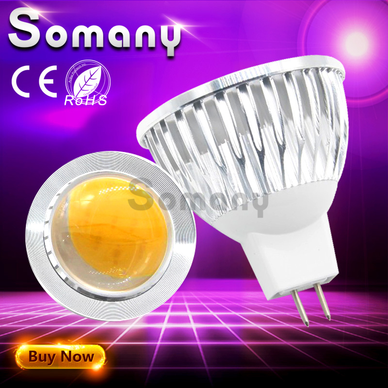 mr16 ac dc 12v bulb ampoule led cob no dimmable dimming. Black Bedroom Furniture Sets. Home Design Ideas