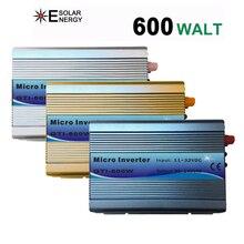 1 шт США сетки галстук инвертора 600 W Stackable DC11-32V Вход AC110V MPPT синусоида Инвертор Micro подходит для 82 V Панели солнечные/24 V Батарея