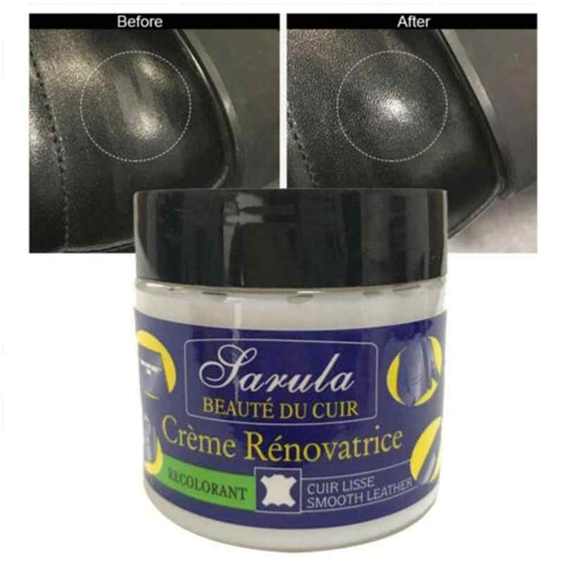 Leather Vinyl Repair Paste Filler Cream Putty for Car Seat Sofa Restoration Cracks Burns Holes Scratches