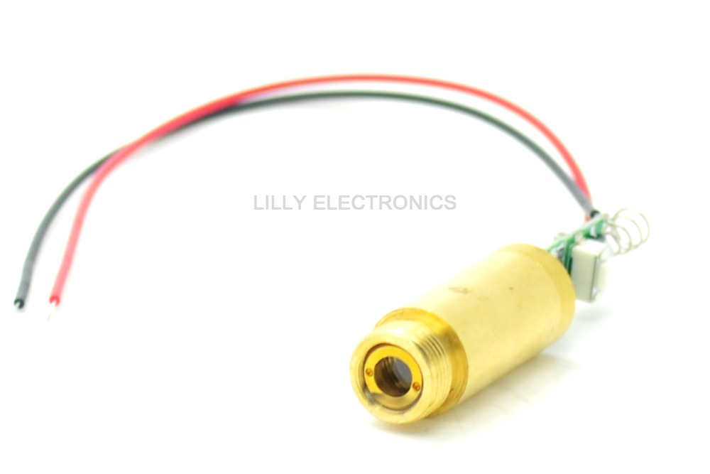 532nm 50mW Green Laser Dot Diode Module 3.7V-4.2VDC