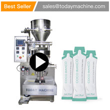 Supply Automatic Milk Detergent Coffee Snus Small Sachets Powder Packing Filling Machine