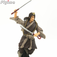 3.75 Water Margin Wu Song,YANG ZHI action figure China figures Chinese Traditional classical figures PVC model kit free shipping
