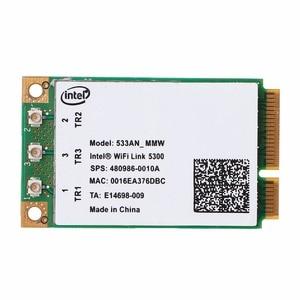Image 2 - 2,4 GHz & 5,0 GHz 5300 533AN_MMW Wireless WLAN WiFi Mini PCIe Karte 802,11 n + 450Mbps Gerät Modul wiFi Link Karte