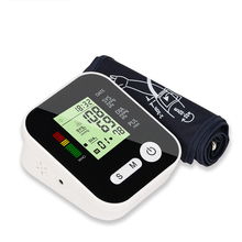 Arm Blood Pressure Monitor tonometer Medical Equipment Apparatus for Measuring Pressure LCD Monitor Heart Beat Meter Machine