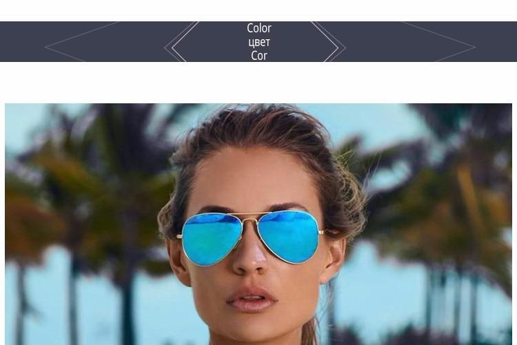 Fashion Aviator Sunglasses Women Men Brand Designer Male Sun Glasses For Women Lady Sunglass Female Mirror Glasses oculos de sol (36)