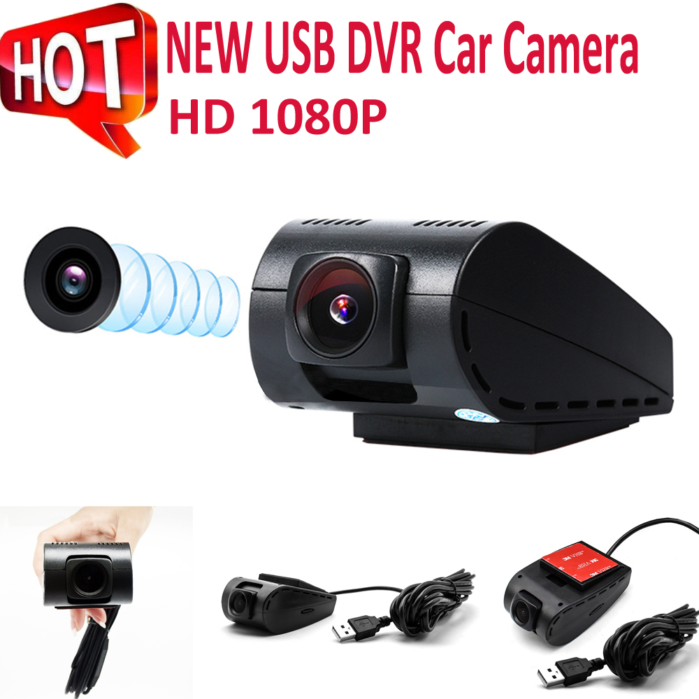 Rhythm 2018 adas USB Car DVR Camera Driving Recorder HD 1080P Video For Android 4.4 5.1 6.0 Night Vision 140Degree Wide Angle