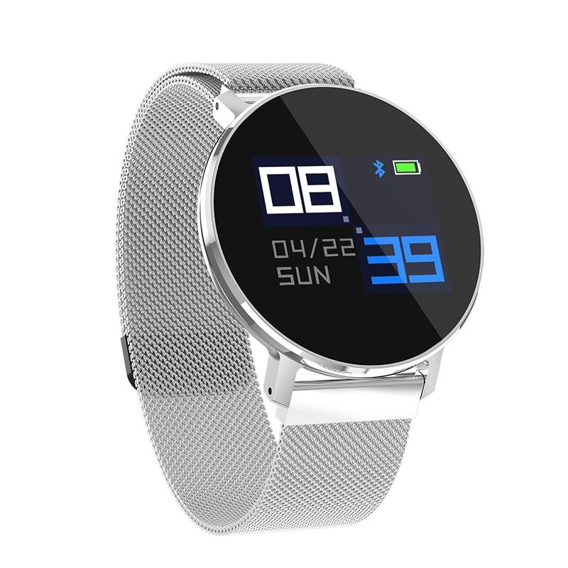 T5 IP68 Waterproof Sport Smart Watch Fitness Tracker Call Pedometer Heart Rate Color Screen Steel Bluetooth