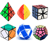 6 PCS Set Rubik Cube Speed Game Puzzle Cube Children Educational Learning Toys Pyraminx 3X3X3 4X4X4