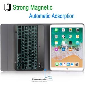 Image 4 - ضئيلة اللاسلكية للازالة بلوتوث لوحة المفاتيح حالة تغطية لتفاح باد الهواء 1 2 برو 9.7 5 6 جديد باد 9.7 2017 2018 A1822 A1893