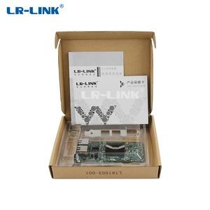 Image 5 - LR LINK 9212PT PCI Express 1x שולחני Gigabit Ethernet 1000 Mbps כפולה יציאת RJ45 רשת כרטיס אינטל 82576 E1G42ET תואם