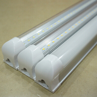 10PCS LED T8 Integrated Tube 10w 600mm 110v 220v 85 265v Transparent Clear Cover Milky Cover
