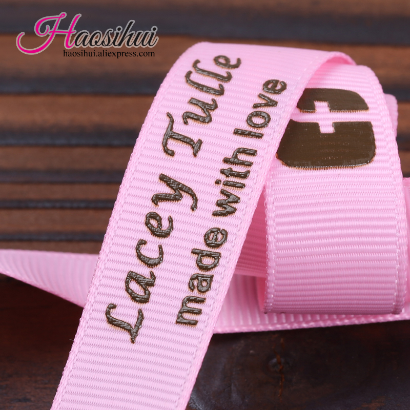2 1/2u0027u0027(64mm) Personalized Wedding Favors Ribbon For Car Baby Shower  Grosgrain Ribbons Gift Packaging 100yards/lot