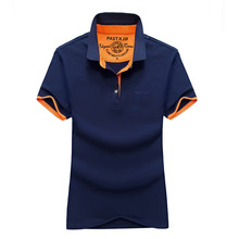 AFS JEEP Quick-Drying shirt Couple Summer New Short-Sleeved shirt Lovers Cotton Work for Men and Women Men's Polo shirt