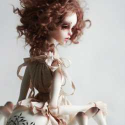 Chateau Elizabeth spider human bjd doll stoy resin figures luts ai toy gift DC