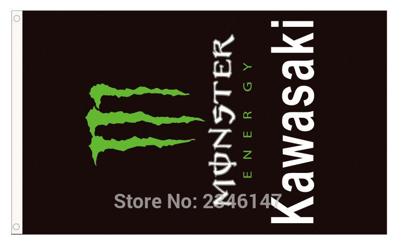Compra Kawasaki Bandera Online Al Por Mayor De China, Mayoristas