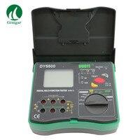 DY5500 тестер сопротивления заземления DY5500 мульти Функция тестер переменного тока метр 0.01ohm Разрешение