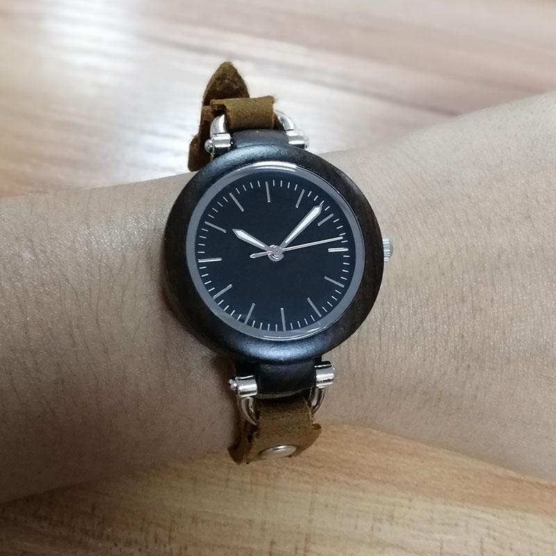 HTB1cAQ5kvBNTKJjy1zdq6yScpXaf - Casual Vogue Design Small Bracelet Women's Wooden Quartz Watch-Casual Vogue Design Small Bracelet Women's Wooden Quartz Watch
