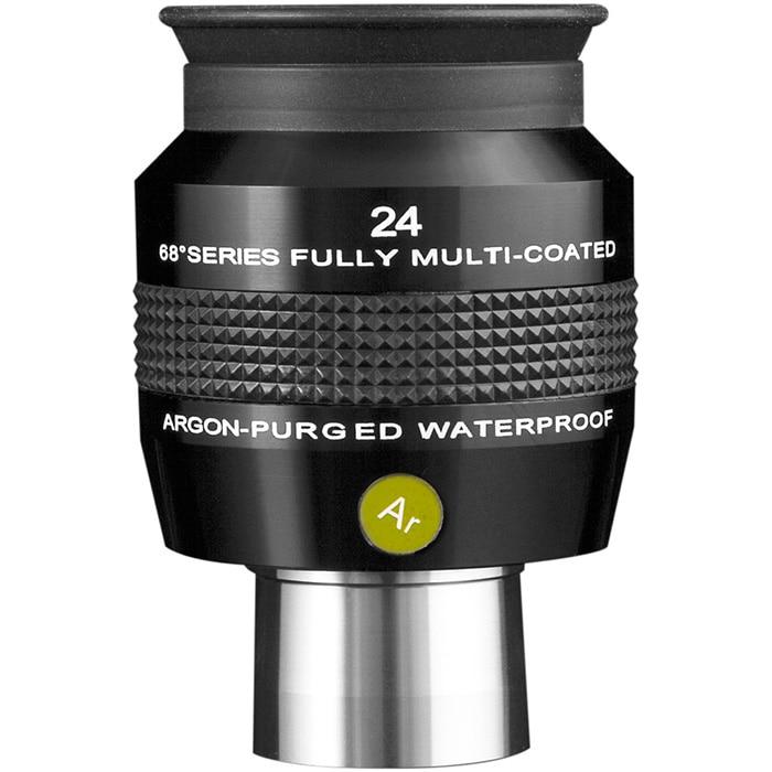 New High Quality ES Explore Scientific 1.25 68 deg Series Argon Purged Waterproof Eyepiece 24mm Fast Shipping