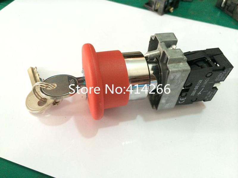 ̿̿̿(•̪ )Тип для XB2-BS142 Серебряный контакт кнопочный ...
