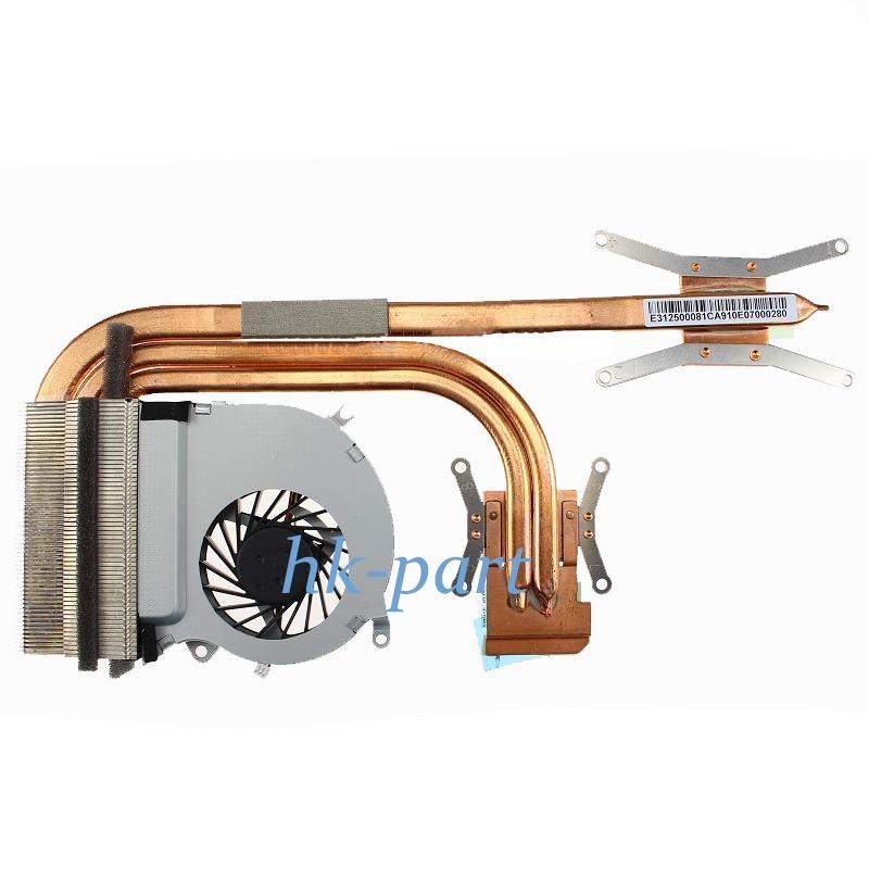 NEW for MSI GE70 MS-1756 MS-1757 CPU-VGA Fan Heatsink Module E33-0800413-MC PAAD06015SL inotec e33