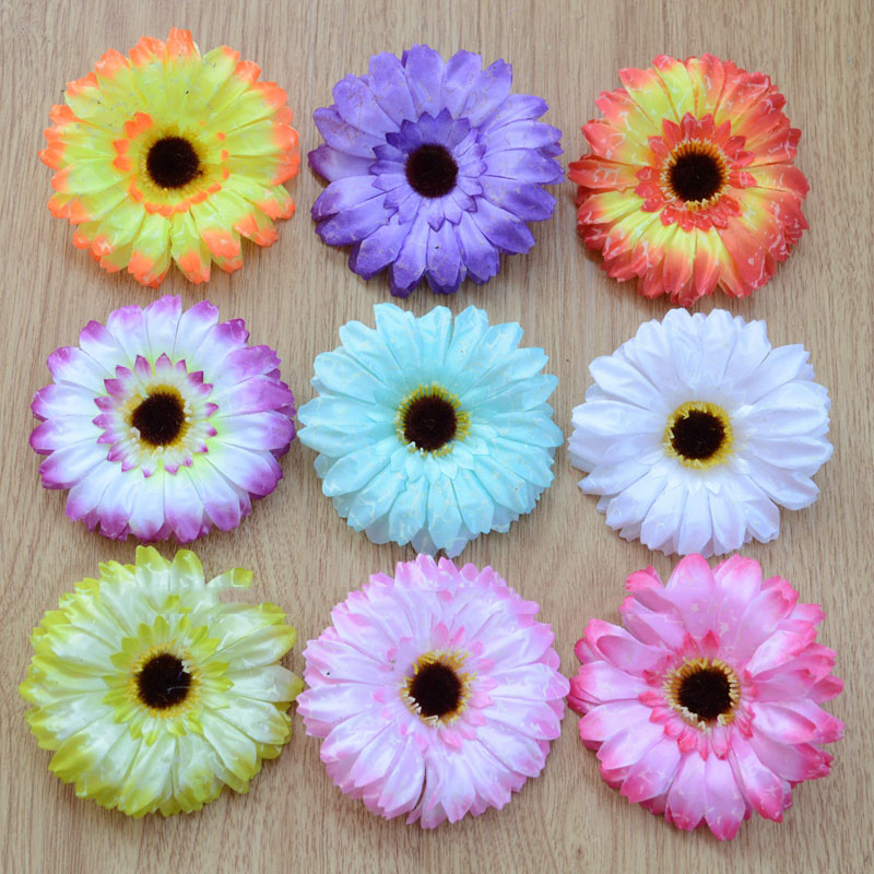 artificial flowers gerbera diy silk flower garlands sen female flowerchina mainland