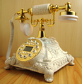 Telefones antigos telefone retro telefone fixo de telefone do escritório criativo pastoral Europeia