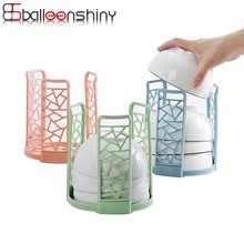 ФОТО BalleenShiny Bowls Sink Drying Rack Drain Water House Dish Rack Bowl Holder Plastic Kitchen Organizador Pratos Kitchen Organizer