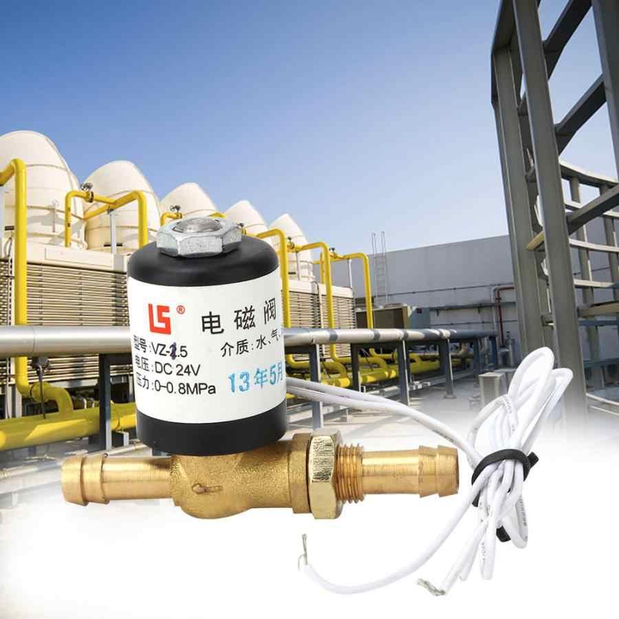 Đồng điện van điện từ AC 220V 36V DC24V máy hoạt động bằng điện van bi 0 ~ 0.6Mpa Cho Argon & khác Làm Sạch Khí Van điện từ