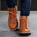 ZDRD 100% Genuine Leather Boots High quality Men boots Fashion Work & Safety Men Shoes Comfortable