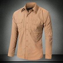 Мужская быстросохнущая рубашка для защиты от солнца с длинным рукавом, для улицы, летняя, для рыбалки, верховой езды, кемпинга, тонкая, дышащая, солнцезащитная, топы, рубашки