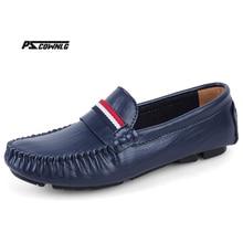 Кожа и мех винтажная натуральная кожа мягкие мокасины для мужчин слипоны водонепроницаемые Мокасины обувь на плоской подошве большой Размеры 36-50