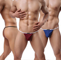 Sexy Men's Gay Fashion Underwear Mens Jockstraps Gay Men Penis Pouch Sheath Lingerie Thongs G Strings Male Underwear Micro Thong