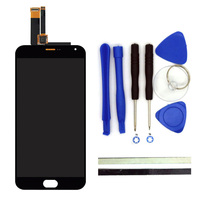 1PCS Original For Meizu M2 Note LCD Display Digitizer Touch Screen Replacement MeiBlue M2 Note 5