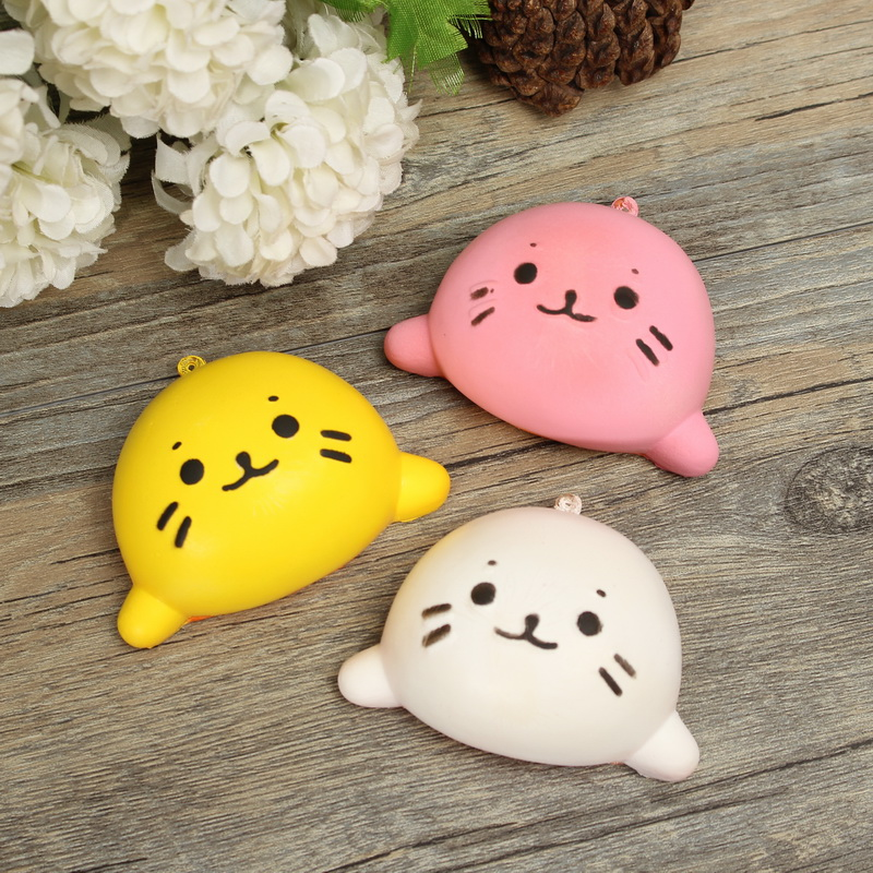6cm Simulation Animal Slow Rising Fun Toys Decoration Three Color Reduce Stress For Kids Children Toy