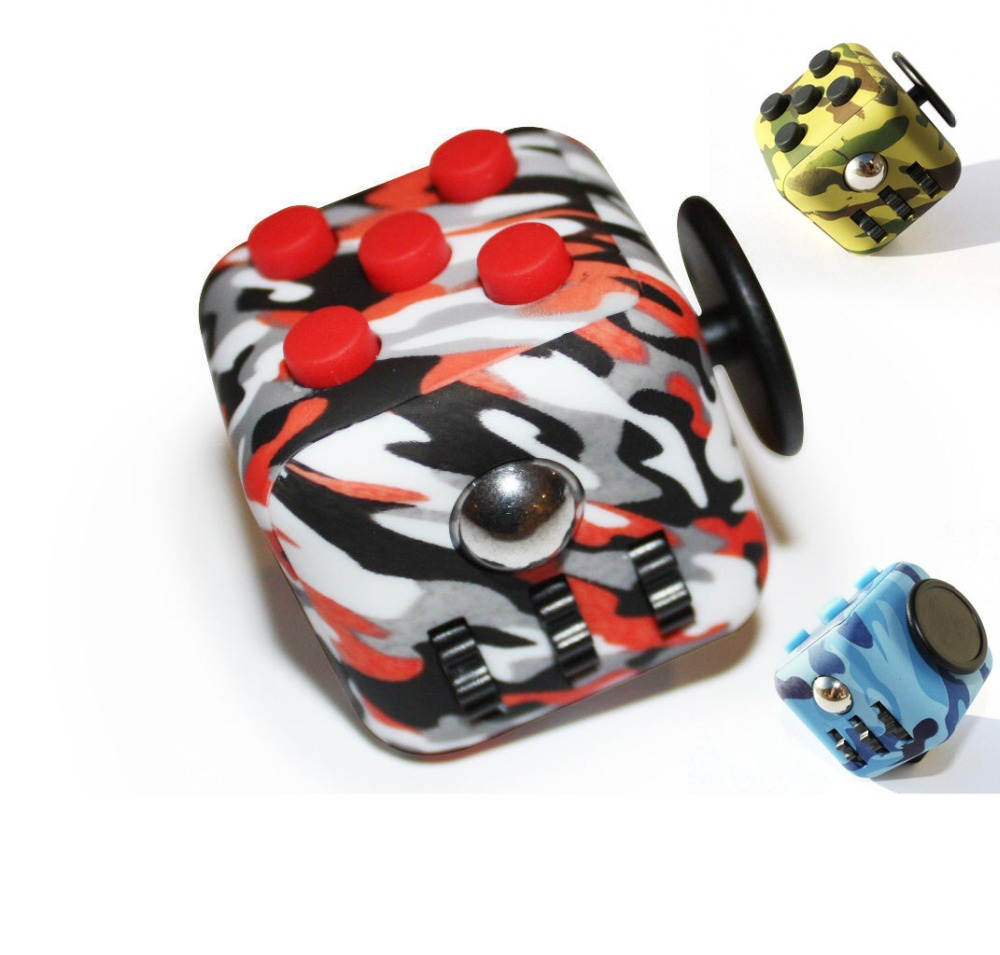 Cute Magic Fidget Cube Children Desk Toy Adult Fun Stress Relief Gift